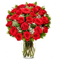 - Dozen Luxury Red Roses